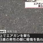 逮捕された下谷海斗容疑者の顔画像は?男性にエアガンを撃ち、軽傷を負わせた疑い